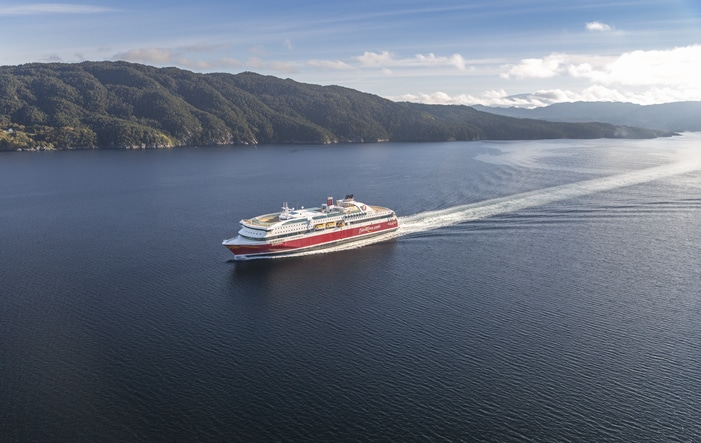 Fjordline Südnorwegen