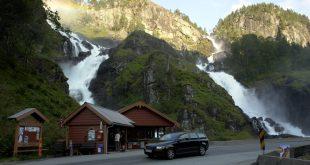 Wasserfall 310x165 - Wandern durch Südnorwegen: Individuell und unvergesslich