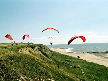 Gleitschirm Dänemark